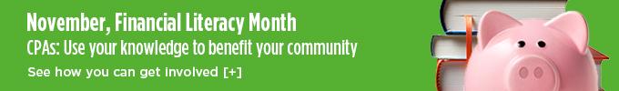 November, Financial Literacy Month