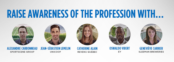 Raise awareness of the profession with...