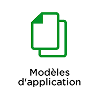 Modèles d'application